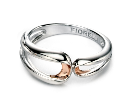 Picture of FS Rose Folded Detail Ring