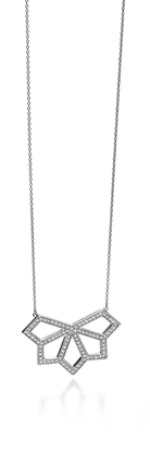 Picture of FS CUT OUT ANGULAR PAVE NECKLACE