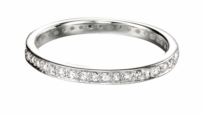 Picture of 2.3Mm Pave Set Round CZ Ring