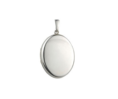 Picture of Silver Locket 2 Plain