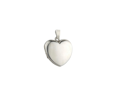 Picture of Silver Locket 8 Plain