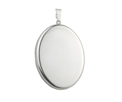 Picture of Silver Locket 1 Plain
