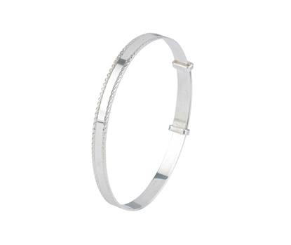 Picture of Silver Childs Bangle 12
