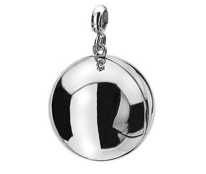 Picture of Silver Locket 6 Ball ALL POLISHED