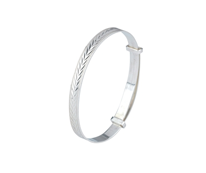 Picture of Silver Childs Bangle 13