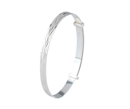 Picture of Silver Childs Bangle 11