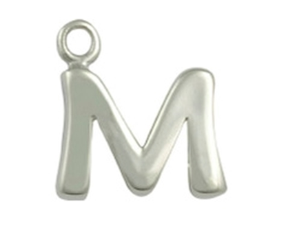 Picture of Silver Letter 'M'