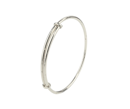Picture of Silver Childs Bangle 09