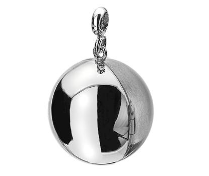 Picture of Silver Locket 6 Ball MATT/POLISH 1/2