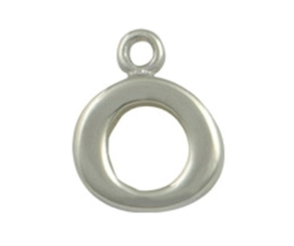Picture of Silver Letter 'O'