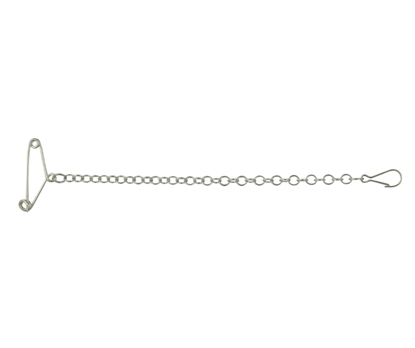 Picture of Silver Brooch Safety Chain 2