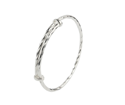 Picture of Silver 3.0 Extender Bangle in DC3 Wire