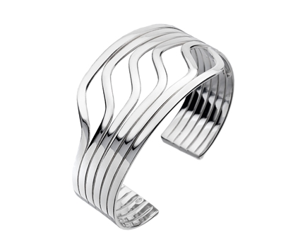Picture of Silver Torque Bangle 13N