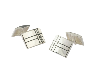 Picture of Silver 152 Cufflink