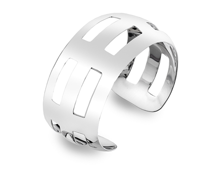 Picture of Silver Torque Bangle 11N