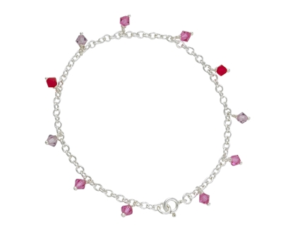 Picture of  Silver 134 Charm Bracelet 7.5/19cm
