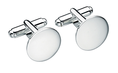 Picture of Plain Round Cufflinks