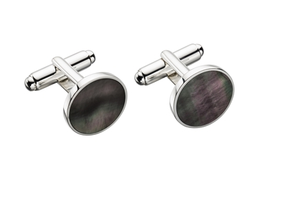 Picture of Mop Round Cufflinks