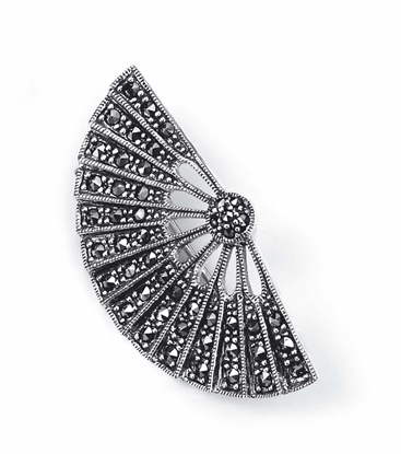Picture of Marcasite Fan Brooch