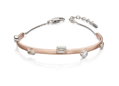 Picture of Bangle With Clear Cubic Zirconia