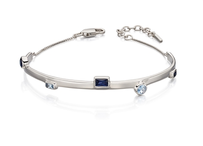 Picture of Bangle With Blue Crystal